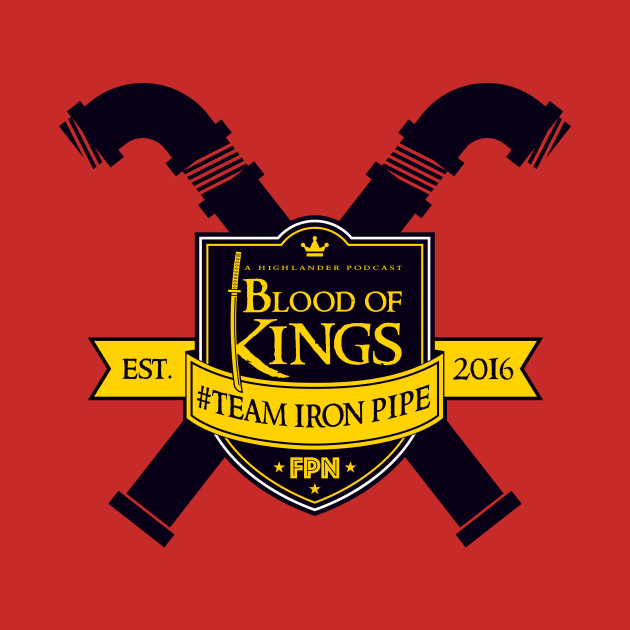 Blood of Kings Team Iron Pipe (Black)
