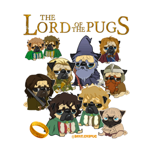 LORD OF THE PUGS t-shirts