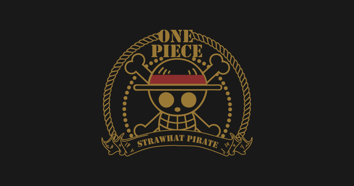 Strawhat Pirate Logo One Piece Anime T Shirt