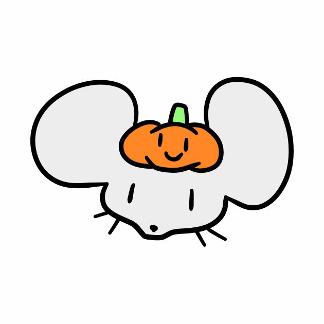 Pumpkin Mouse Face