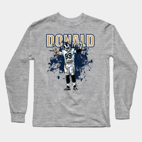newest 5d501 d73d6 Aaron Donald Long Sleeve T-Shirts | TeePublic
