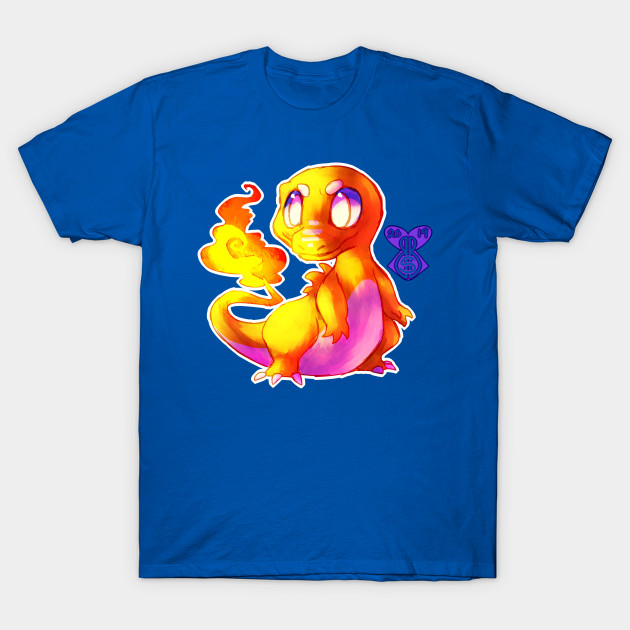 6e7c41f4 exotic salamander - Charmander - T-Shirt   TeePublic
