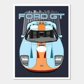 Ford Gt   Heritage Posters And Art