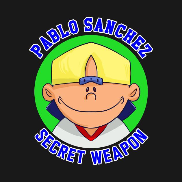 Pablo Sanchez: Secret Weapon - Video Games - T-Shirt ...