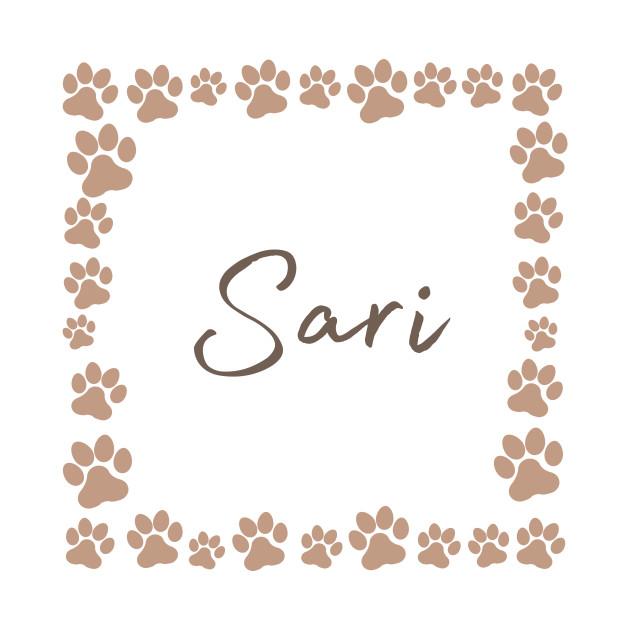 Pet name tag - Sari