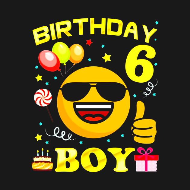 Kids 6 Birthday Boy Shirt Years Old 6th