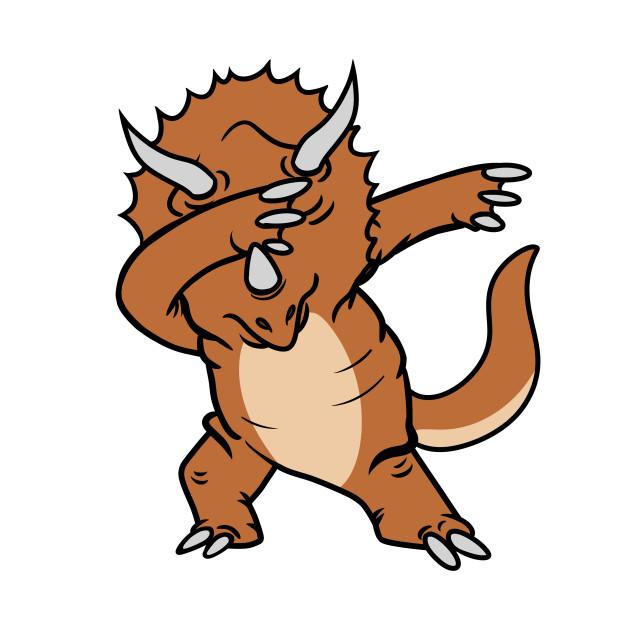Triceratops Dabbing