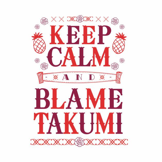 Blame Takumi Shirt Ver. 2