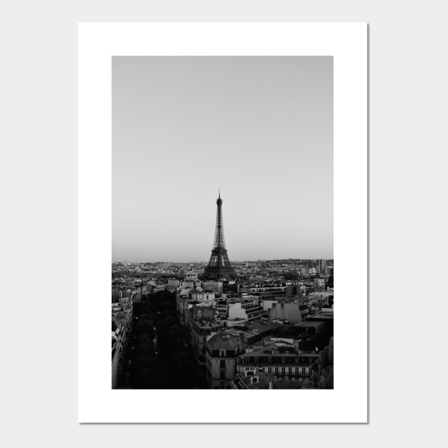 Black And White Paris Eiffel Tower Black And White Paris Eiffel Tower Posters And Art Prints Teepublic Au