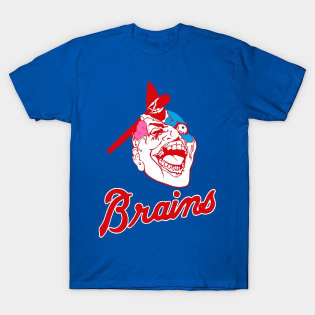 d6c71dc96e8 ATLANTA BRAINS - Atlanta Braves - T-Shirt