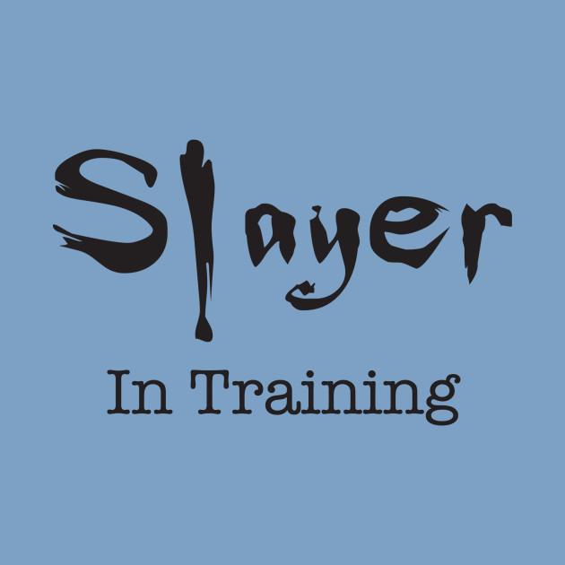 Slayer in Training - Black Logo
