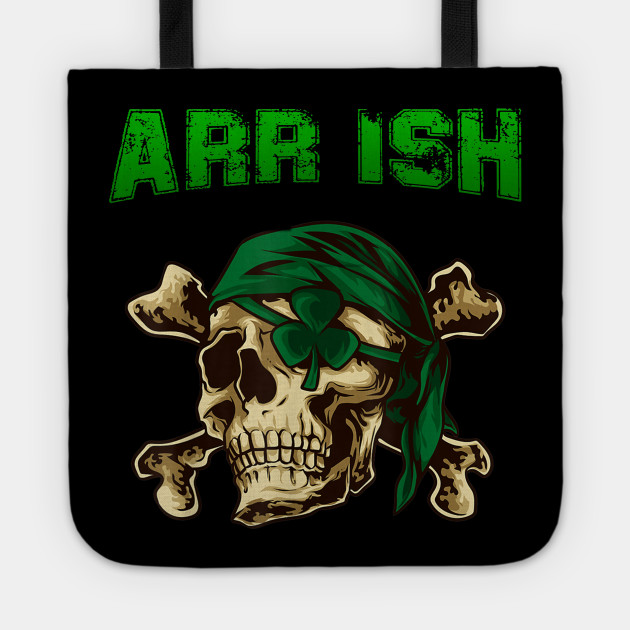 Arrrish Funny Irish Pirate St Patrick Day