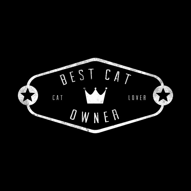best cat owner black merch