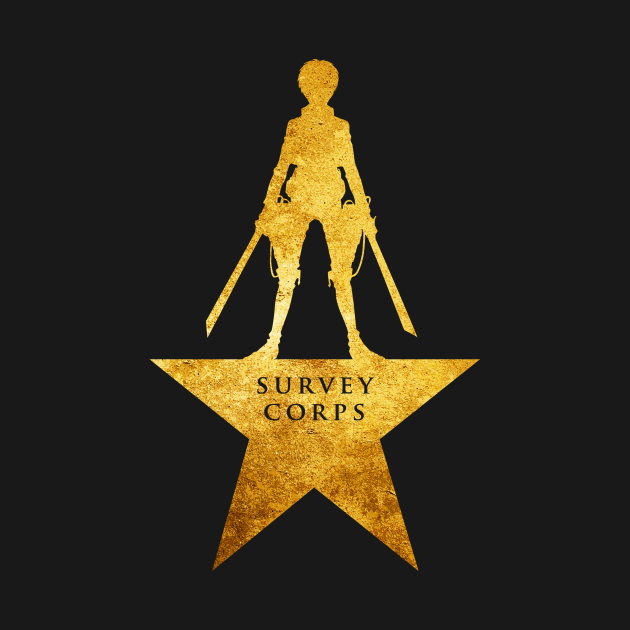 Survey corps - Eren - Attack On Titan - T-Shirt | TeePublic
