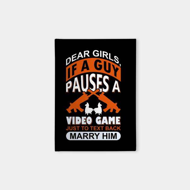 Dear Girls Funny Gaming