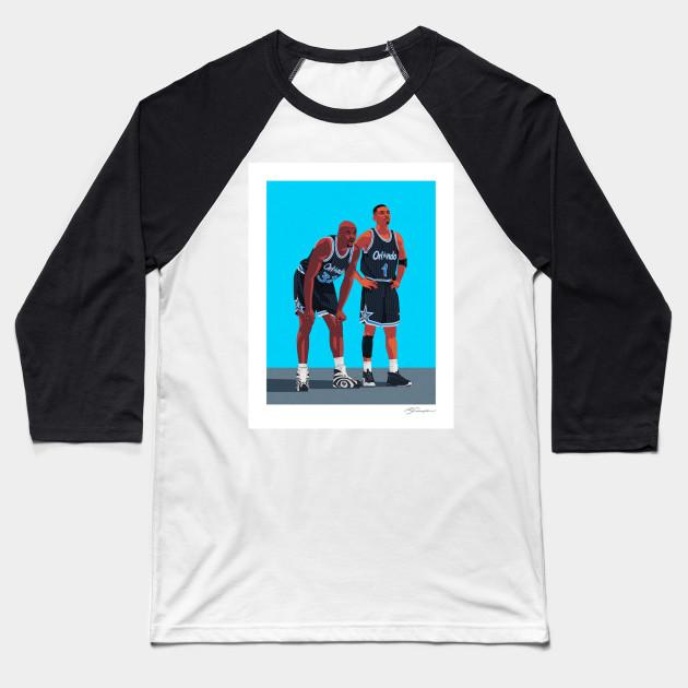 27dc063dd8f Shaq   Penny - Shaq Penny - Baseball T-Shirt