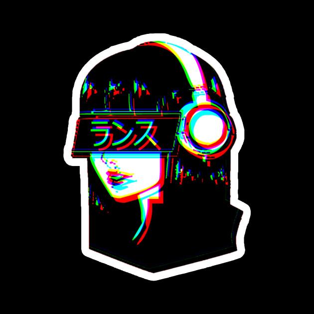 vaporwave egirl