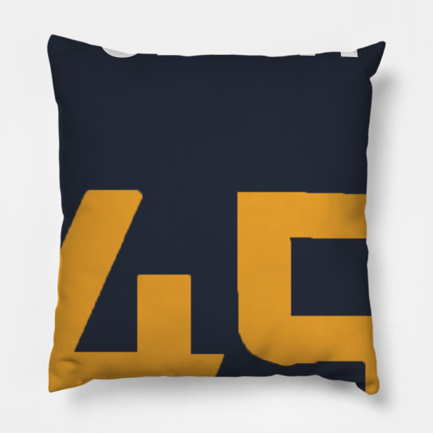 61a217f80 Donovan Mitchell 'Spida' Nickname Jersey - Utah Jazz - Nba - Pillow ...