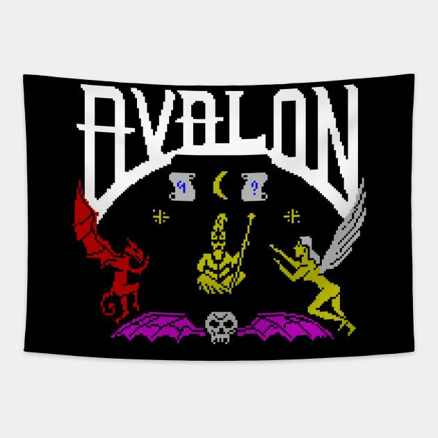 Avalon Cuscini.Avalon Zx Spectrum Arazzo Teepublic It