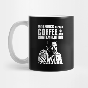 Mornings Are For Coffee And Contemplation Mugs Teepublic