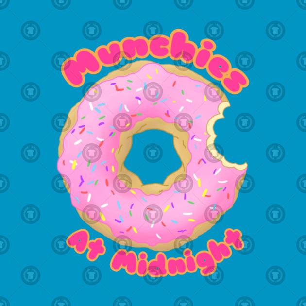 Pink Munchies Donut