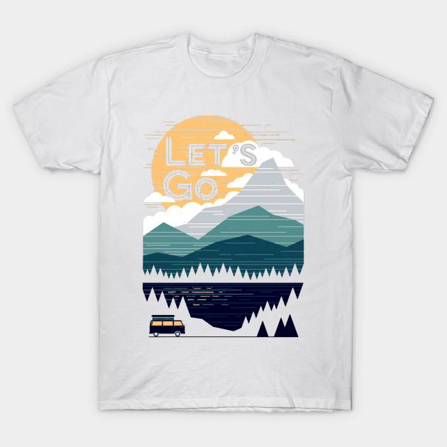 0af43d16635 Let's Go Mountain - Lets Go - T-Shirt | TeePublic