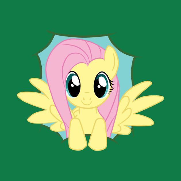 Peek-A-Boo Fluttershy