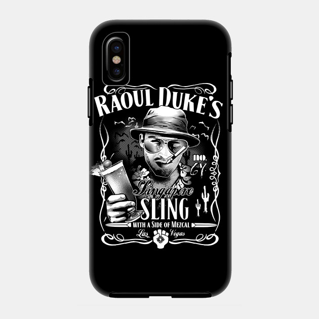 d969ff21 Raoul Duke's Singapore Sling - Hunter S Thompson - Phone Case ...