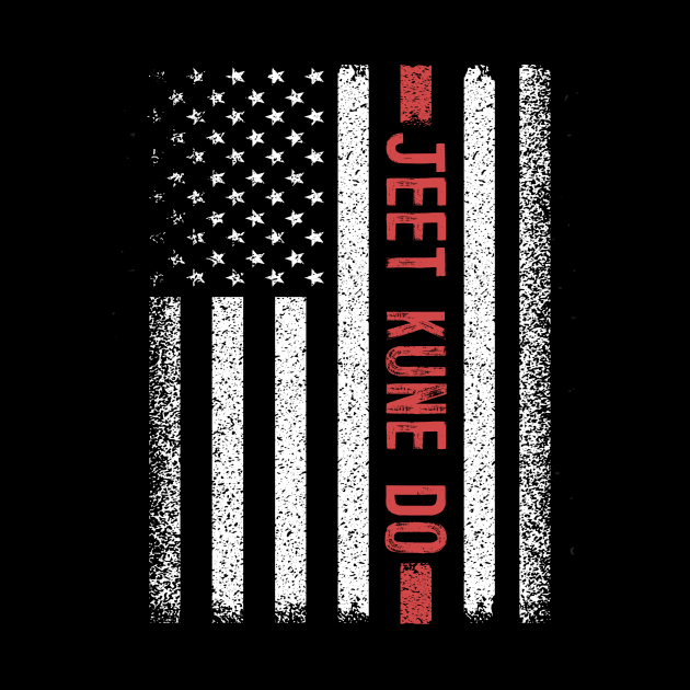 Jeet Kune Do American Flag 4th of July