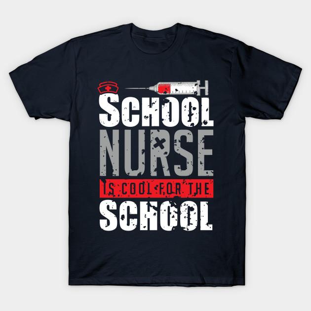 06d002c638 School Nurse Shirts Cool for the School Nurse Grunge Tshirt - Nurse ...