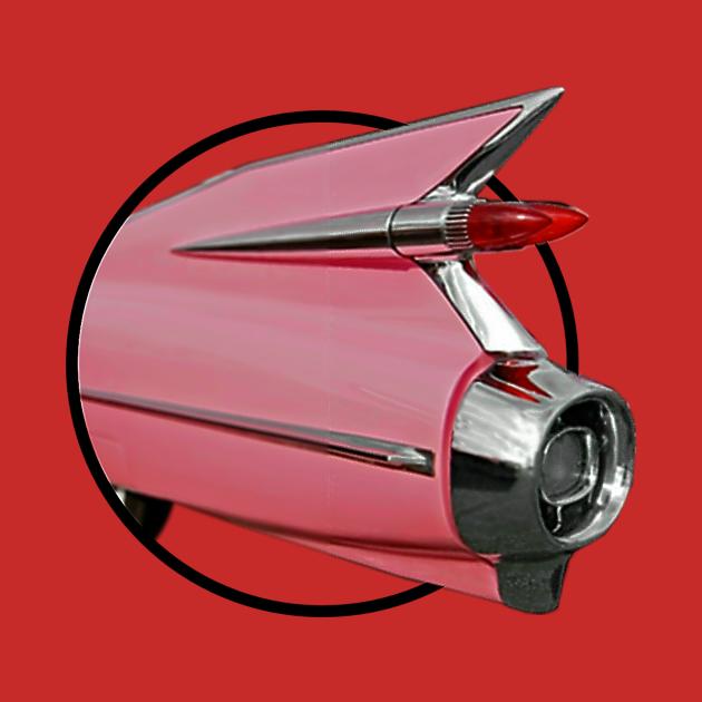 Pink 59 Cadillac