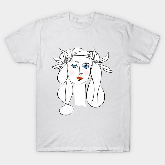 Denizko Art Woman by Picasso