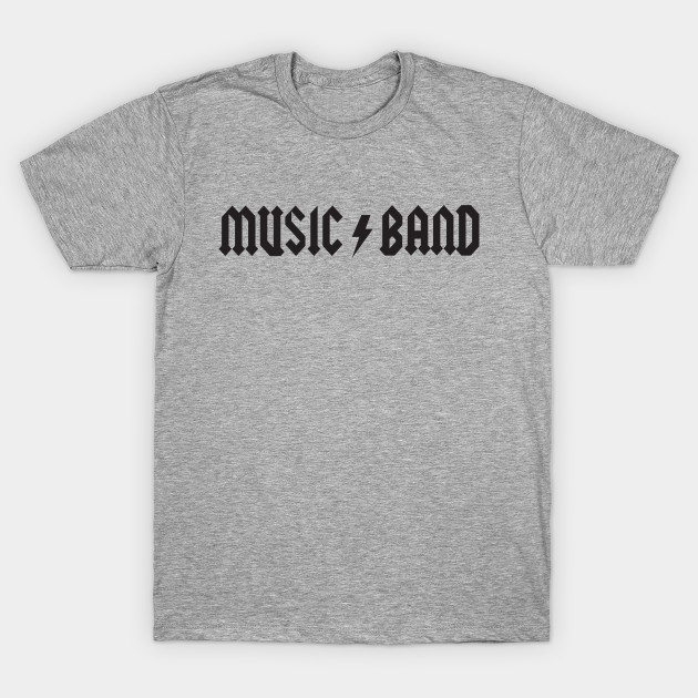 Music Band T-Shirt - Music