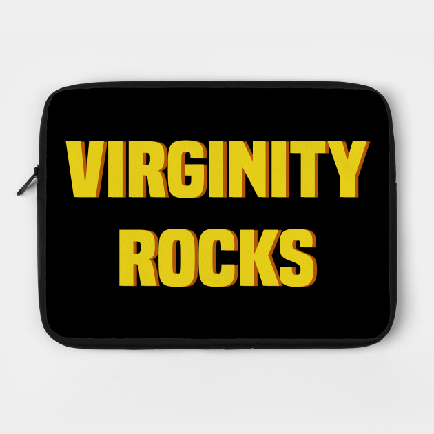 Virginity Rocks Shirt 1970s Retro Style
