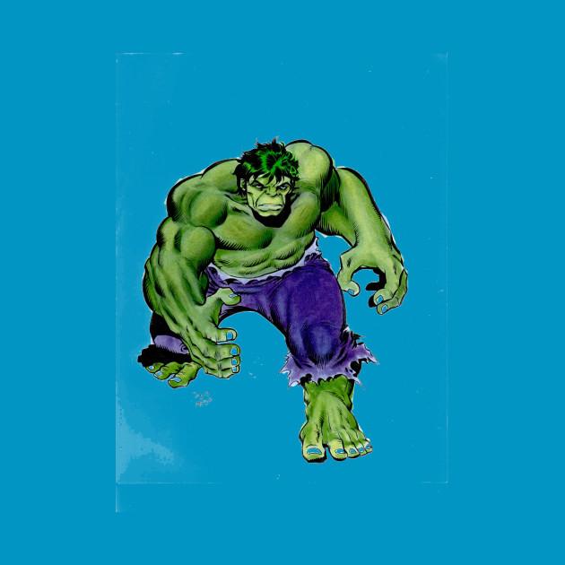 Buscema Green Hulk