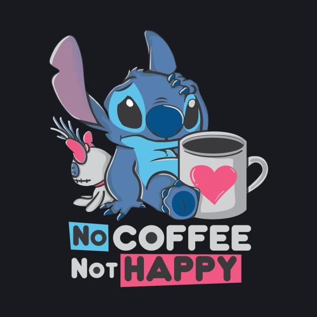 No Coffee - Not Happy