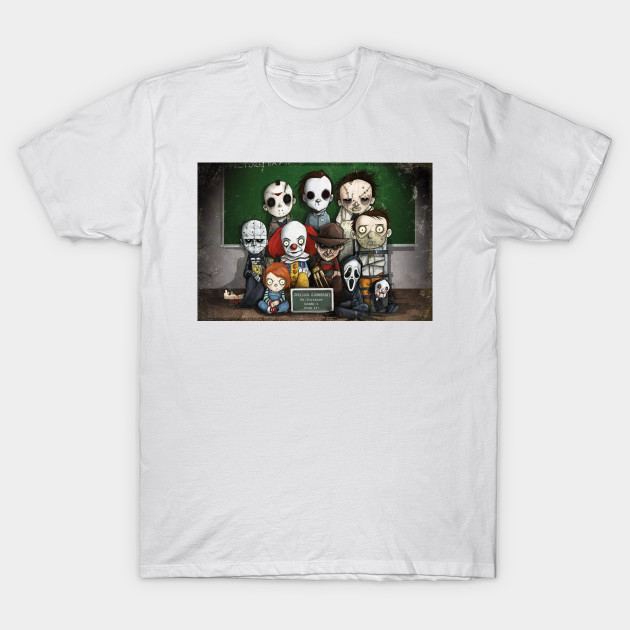 Horror Collage - Overlook Elemtary T-Shirt-TOZ