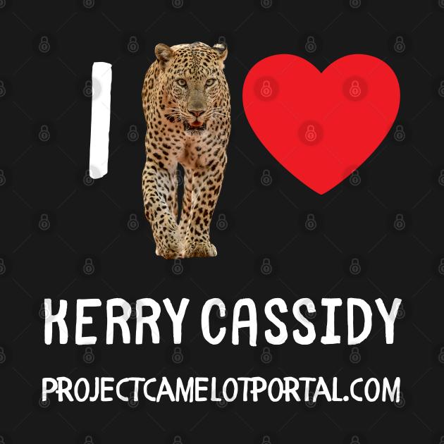 Project Camelot I Heart Kerry Cassidy Black