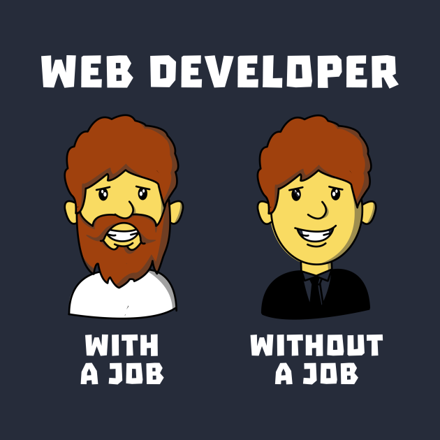 Web Developer With Job WithOut Job