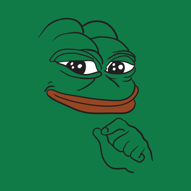Smug Pepe the Frog meme