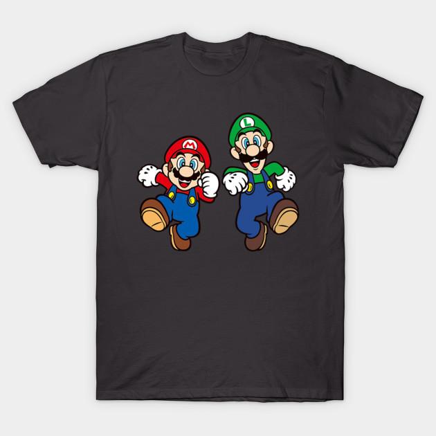 mario and luigi mario and luigi t shirt teepublic