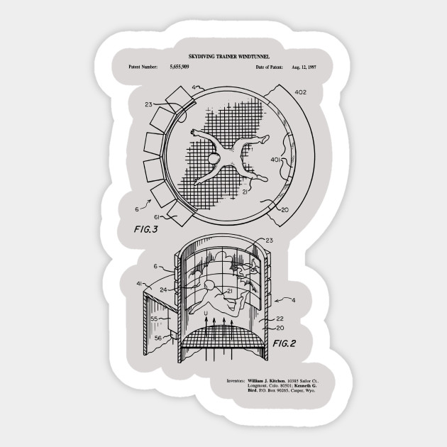 bc7c06c53 Indoor Skydiving Simulator Patent Print - Indoor Skydiving Simulator ...