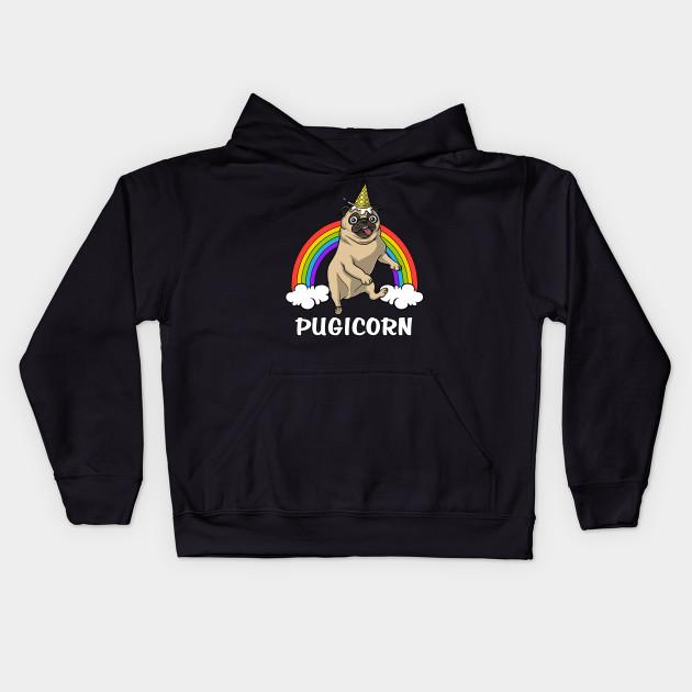 Pug Unicorn Be What You Want To Be SweatshirtPugicornUniPugPug Jumper