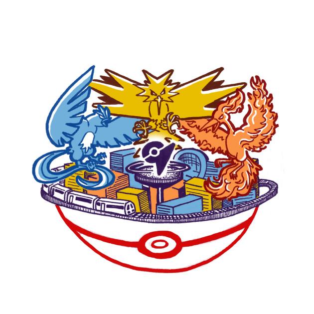 Pokemon Go - Tysons McLean and Vienna Raid Emblem
