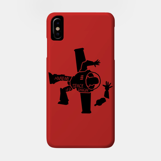 Anatomy Of A Space Ranger Toy Story Phone Case Teepublic