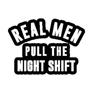 Night Shift Stickers