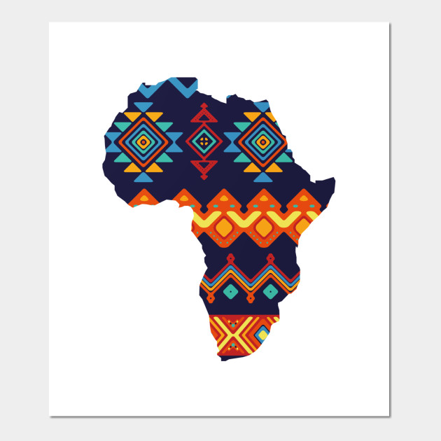 Colorful Map Of Africa.Africa Colorful Africa Map