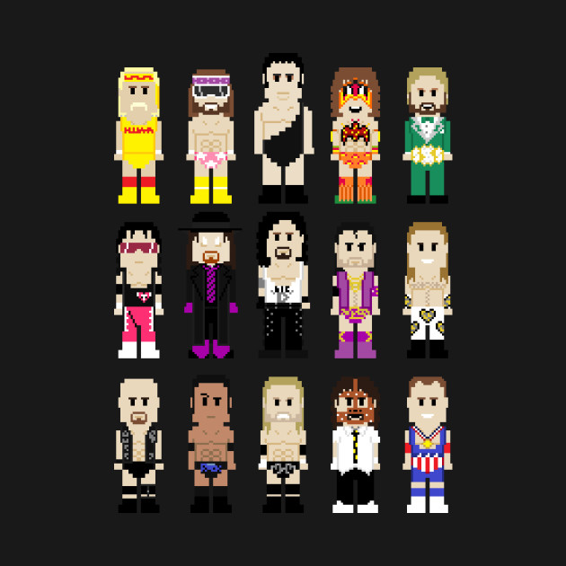 8-Bit Wrestlers: Generations