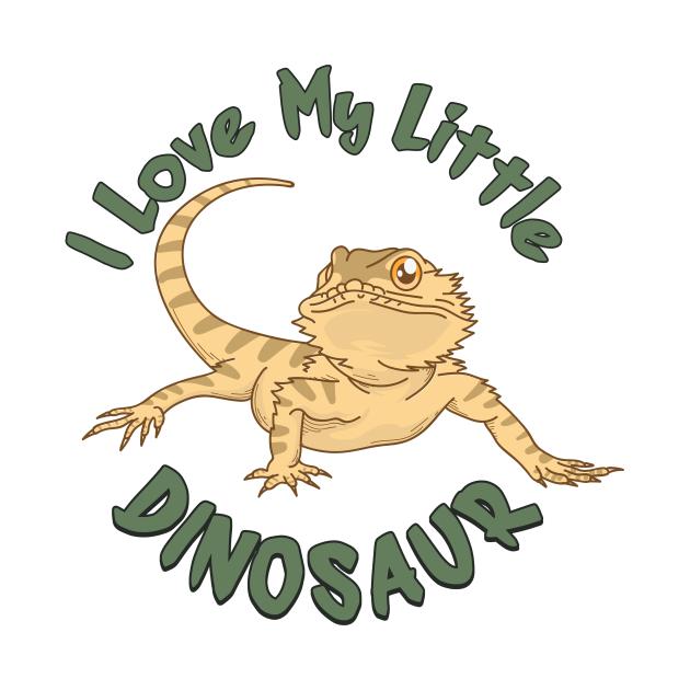 I Love My Little Dinosaur