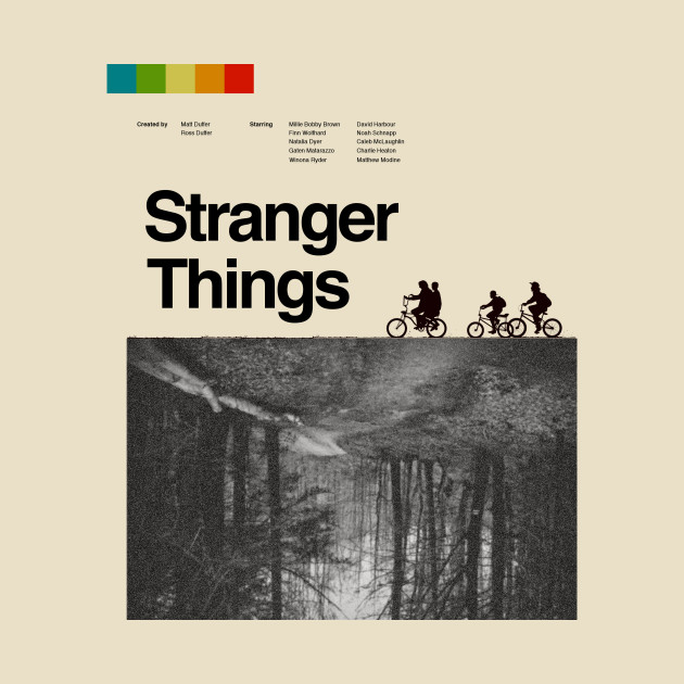 Stranger Things Vintage Poster Stranger Things Mug